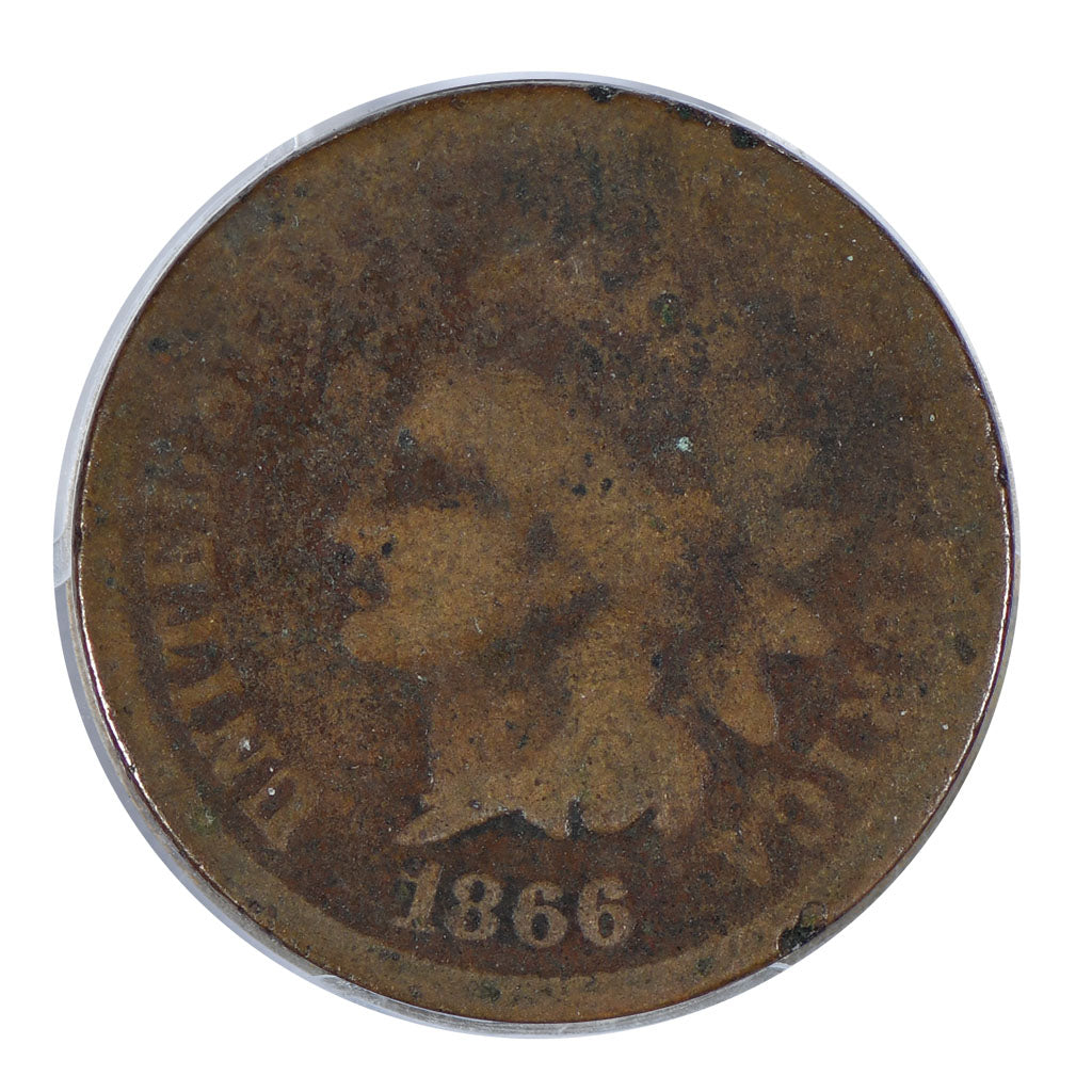 1866 Indian Head Cent About Good