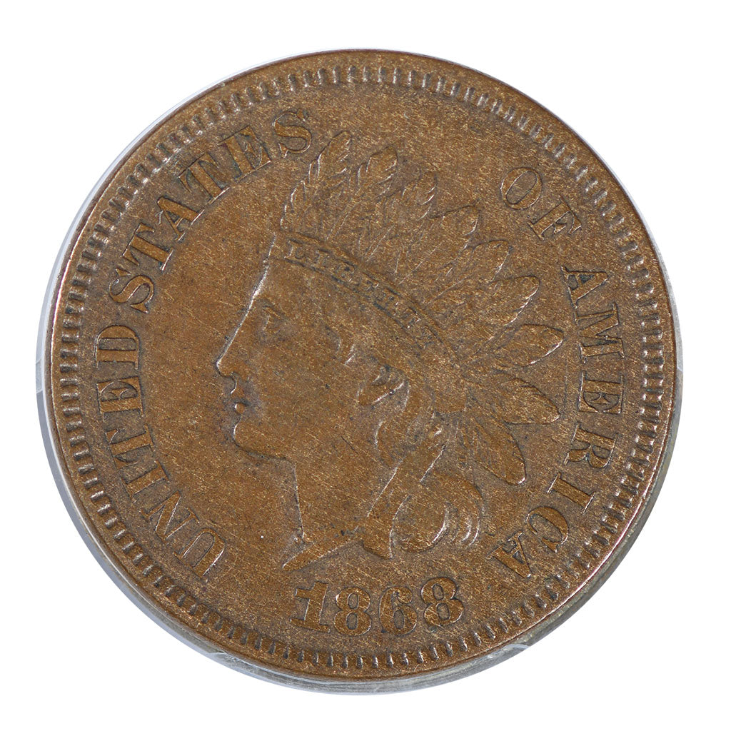 1868 Indian Cent Extra Fine