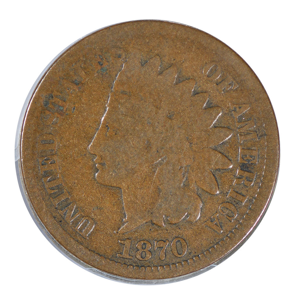 1870 Indian Cent Good