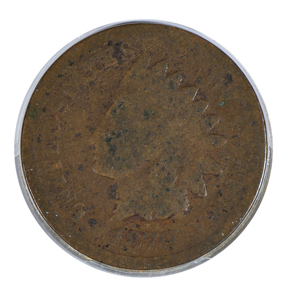 1870 Indian Head Cent About Good