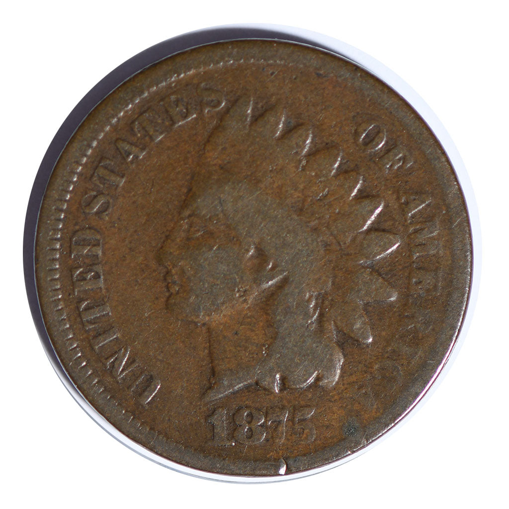 1875 Indian Cent Very Good