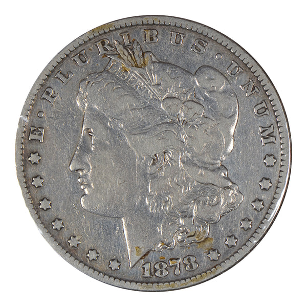 1878-S Morgan Dollar Fine Condition # 196000