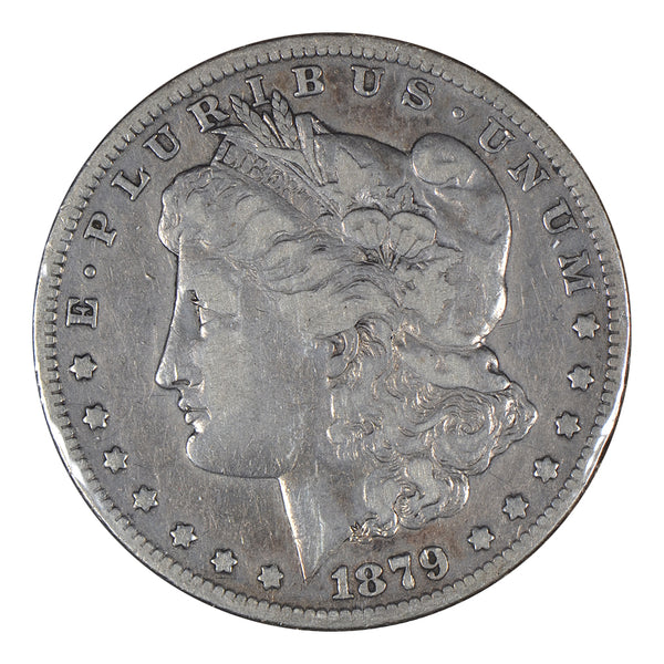 "1879 S ""Rev of 79"" Morgan Dollar Fine Condition #198090"