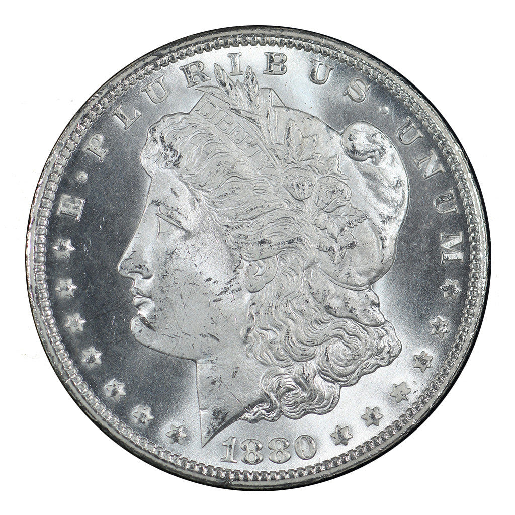 1880/79-CC U.S. Morgan Silver Dollar GSA NGC VAM-4 REV OF 78 MS64