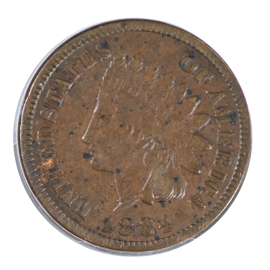 1884 Indian Cent Extra Fine