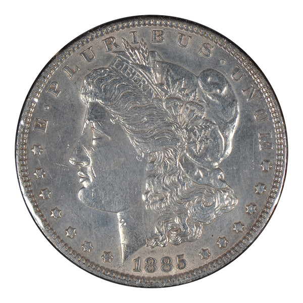 1885 Morgan Dollar About Uncirculated # 195102