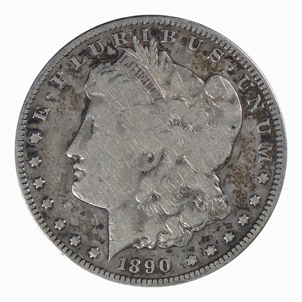 1890-CC Morgan Dollar Very Good Condition