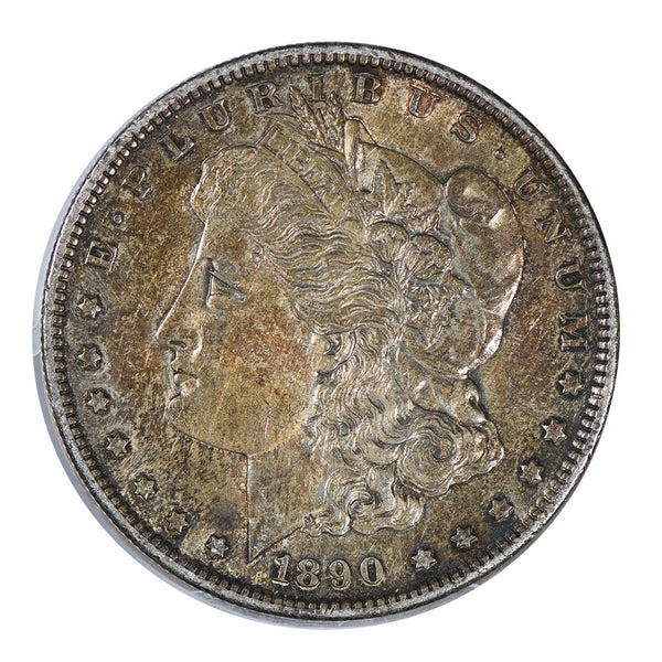1890-S Morgan Dollar About Uncirculated