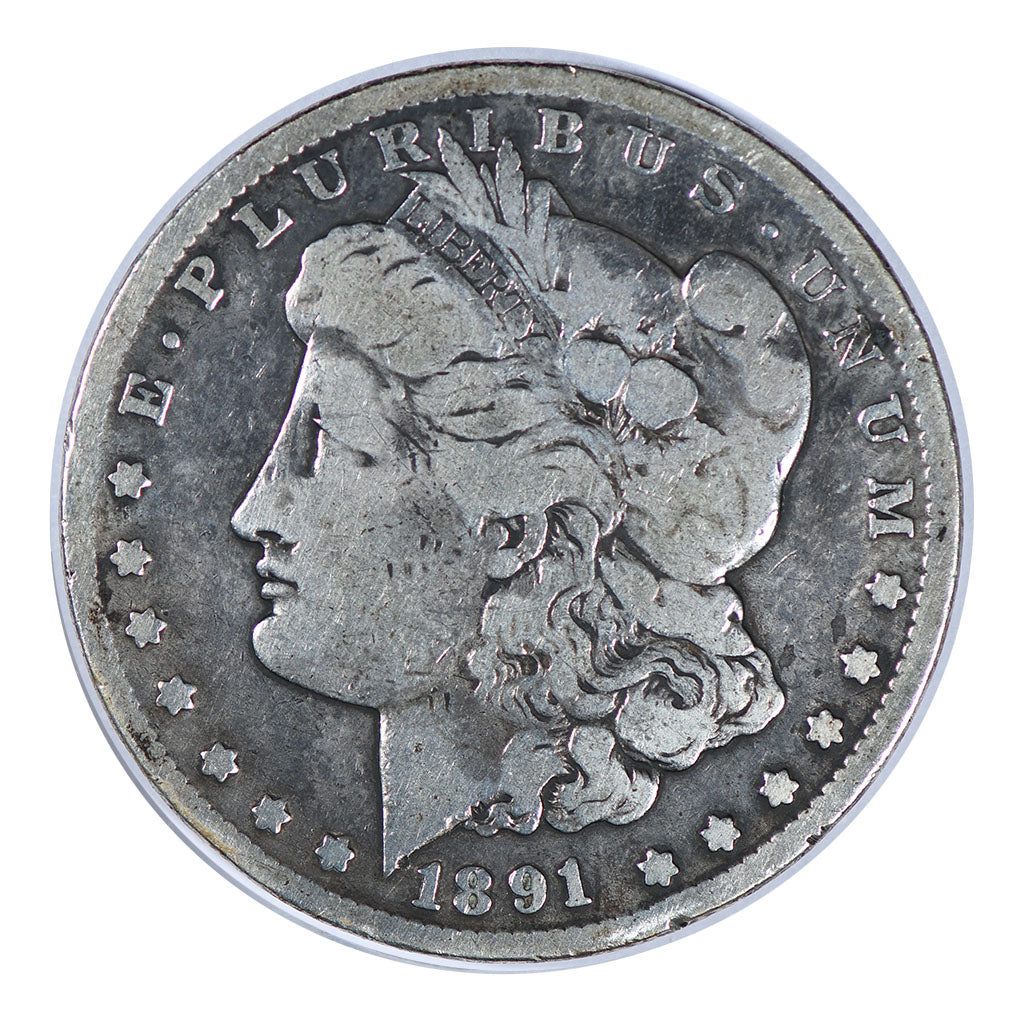 1891-CC Morgan Dollar Very Good