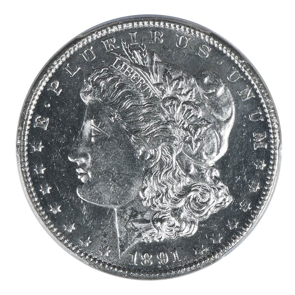 1891-CC Morgan Dollar PCGS MS62PL