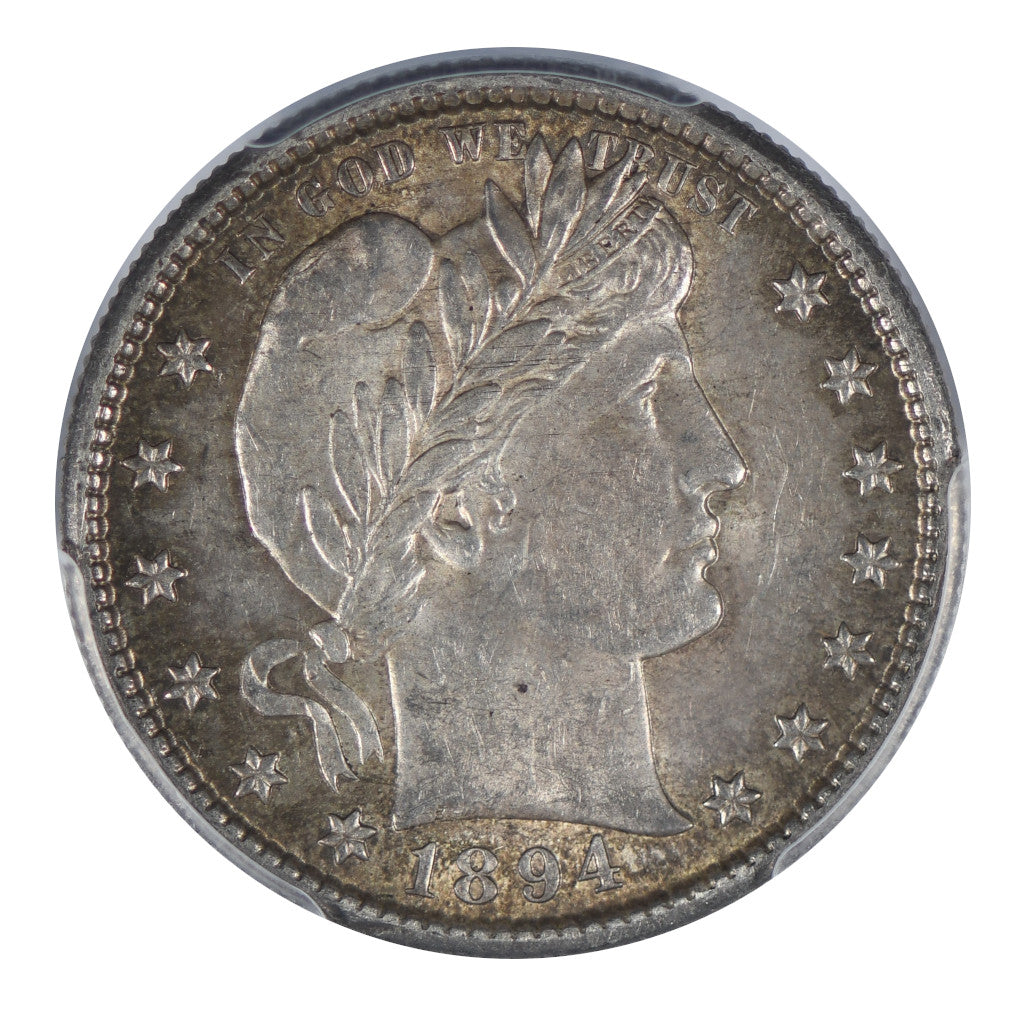 1894-S Barber Quarter PCGS MS62