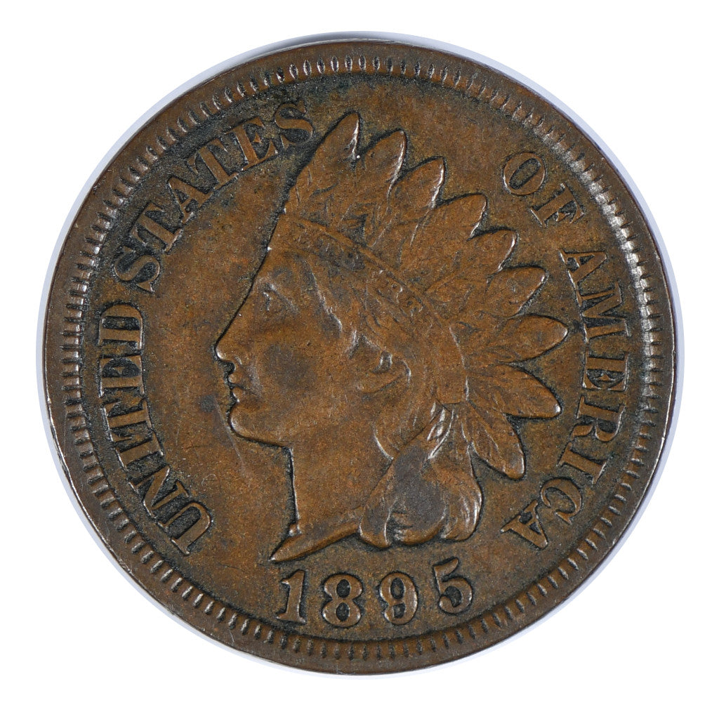 1895 Indian Head Cent About Uncirculated