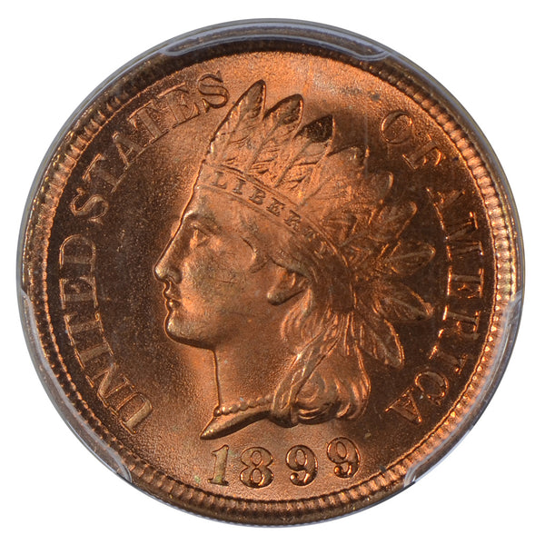 1899 Indian Cent PCGS MS67RD