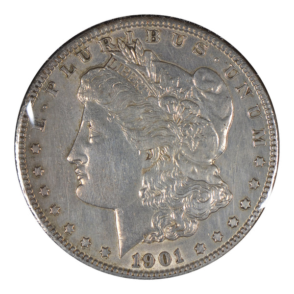 1901-O Morgan Dollar About Uncirculated
