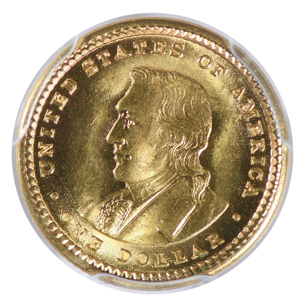 1904 Lewis and Clark Gold Commemorative $1 PCGS MS65