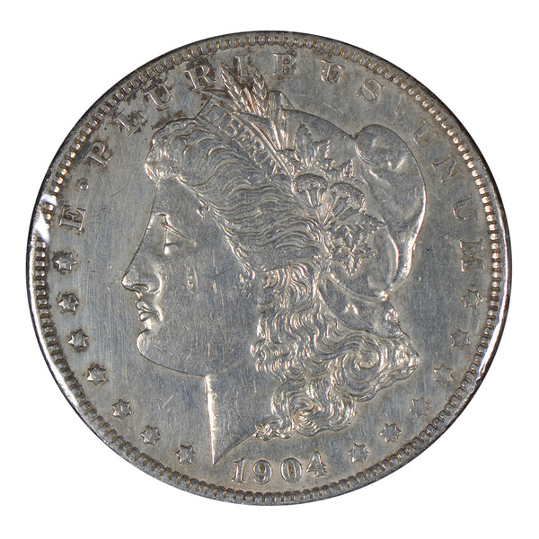 1904 -O Morgan Dollar About Uncirculated #191211