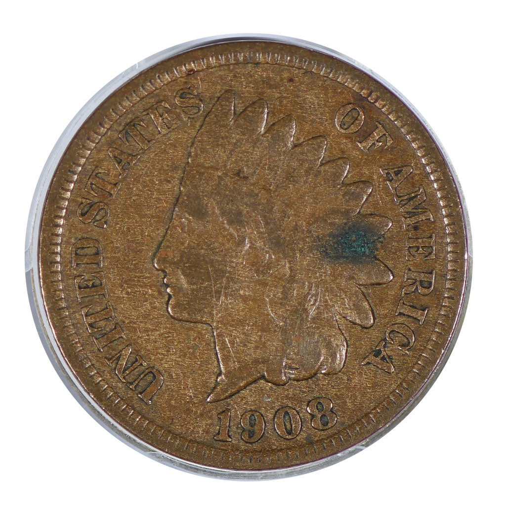 1908-S Indian Head Cent Very Fine