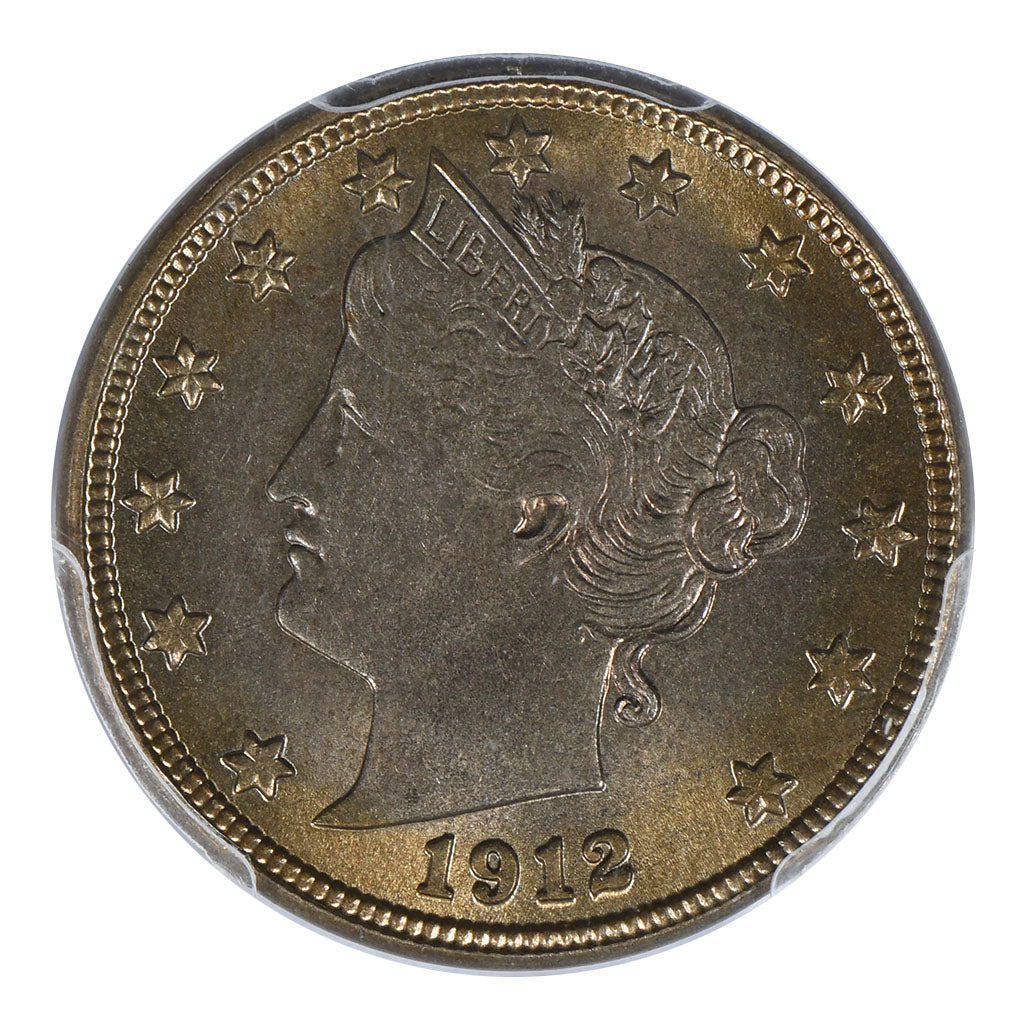 1912-D Liberty Head Nickel PCGS MS64