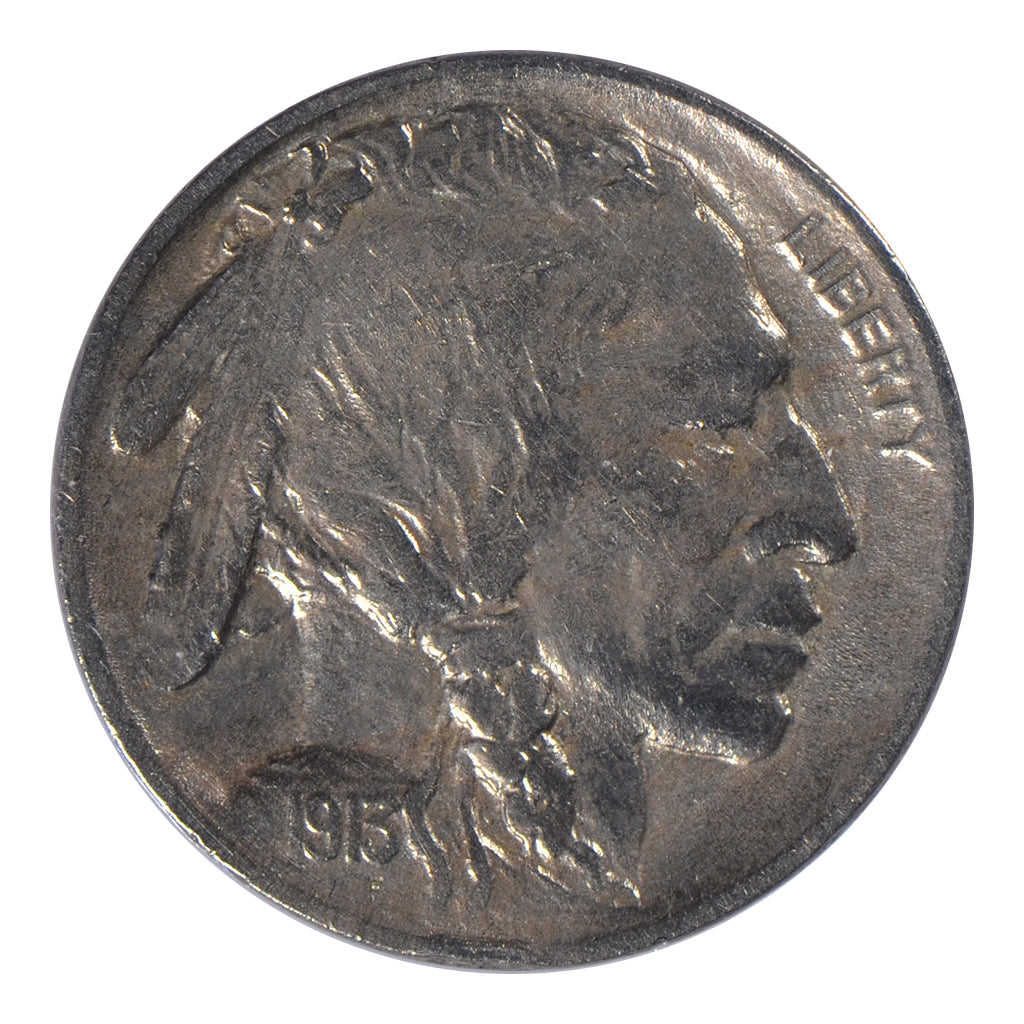 1913 Type 1 Buffalo Nickel Mint State-63