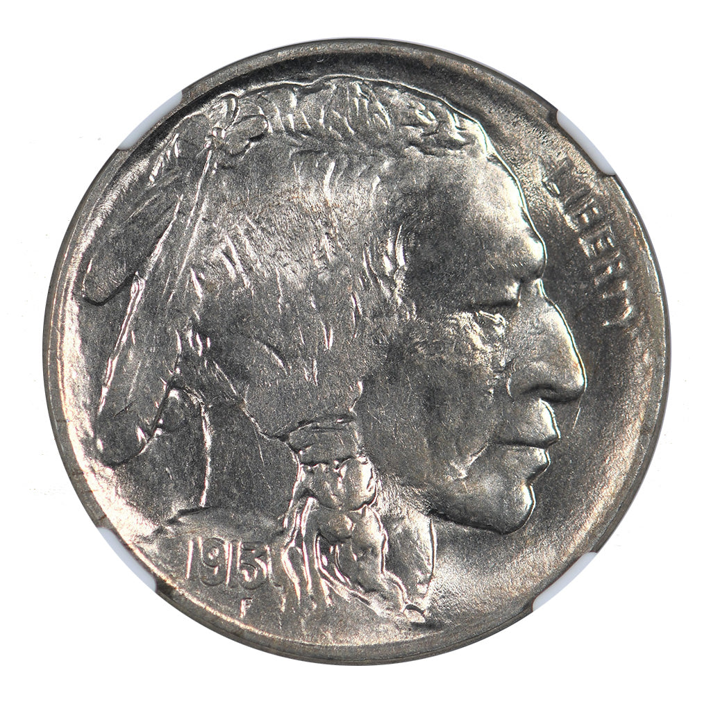 1913-P Buffalo Nickel Type 2 NGC MS64