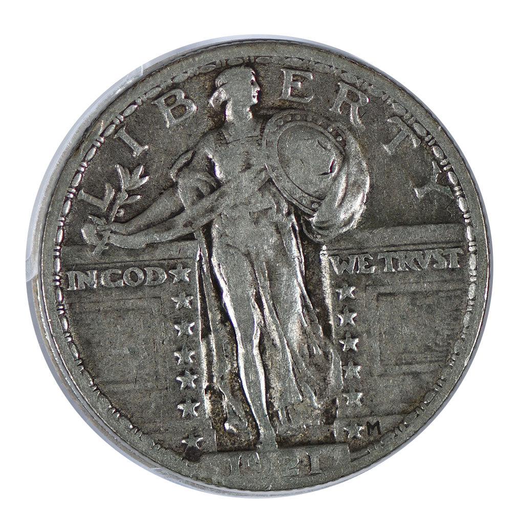1921 Standing Liberty Quarter Very Fine