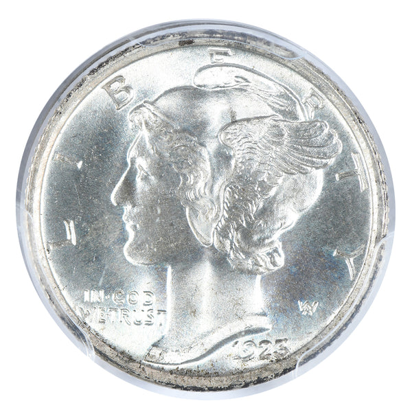 1923 Mercury Dime PCGS MS67+FB CAC