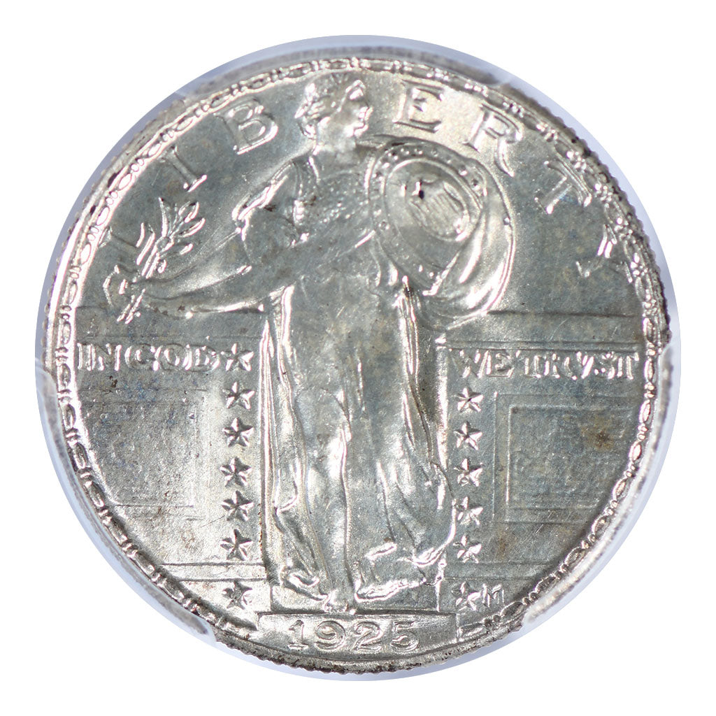 1925 Standing Liberty Quarter PCGS MS66FH