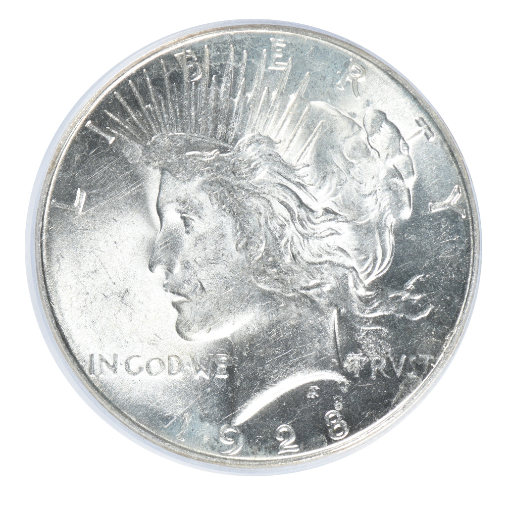 1928-S Peace Dollar PCGS MS62