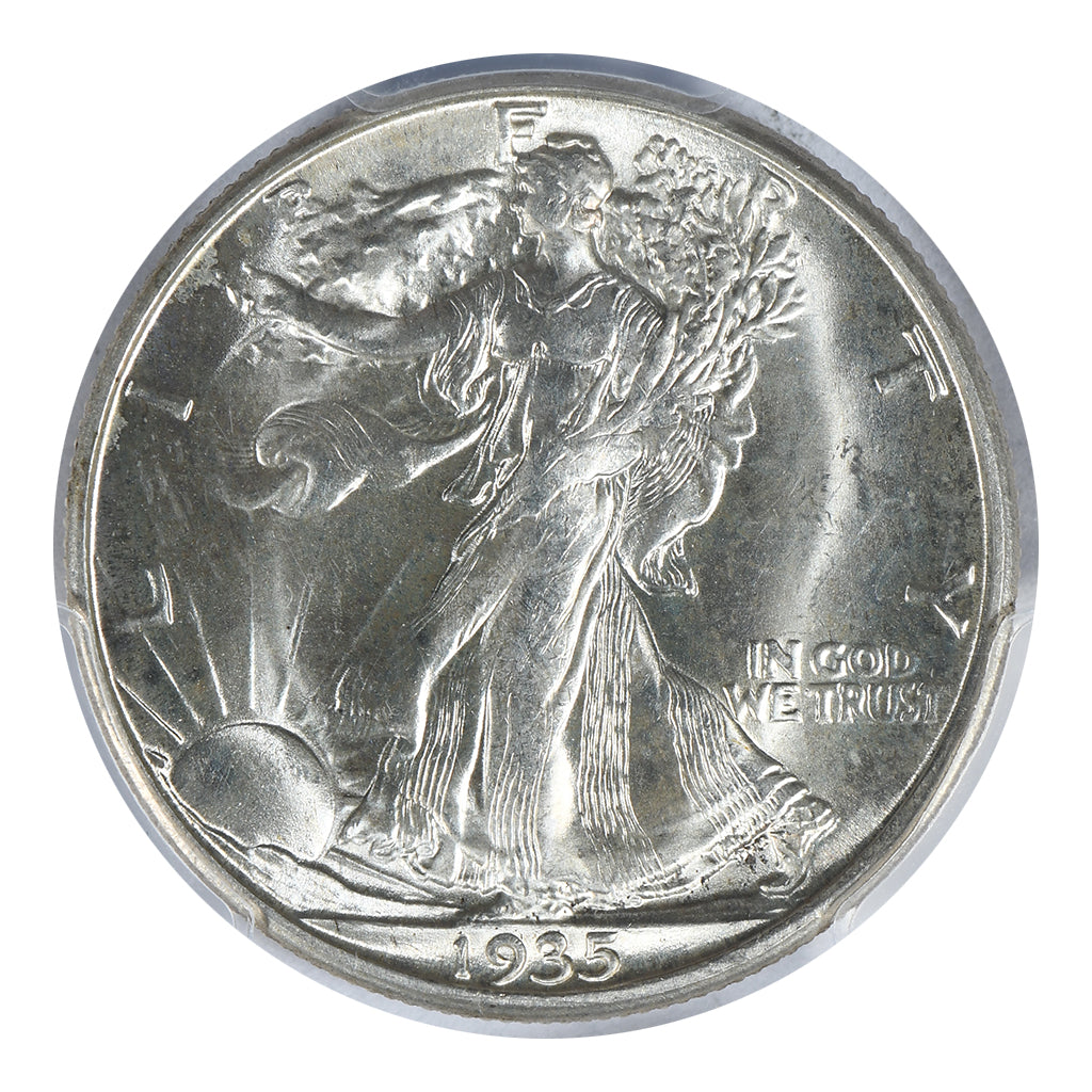 1935-D Walking Liberty Half Dollar PCGS MS65