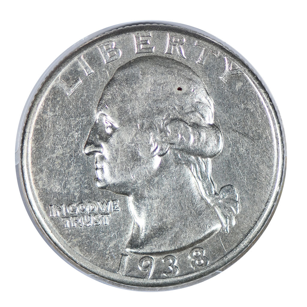 1938 Washington Quarter About Uncirculated