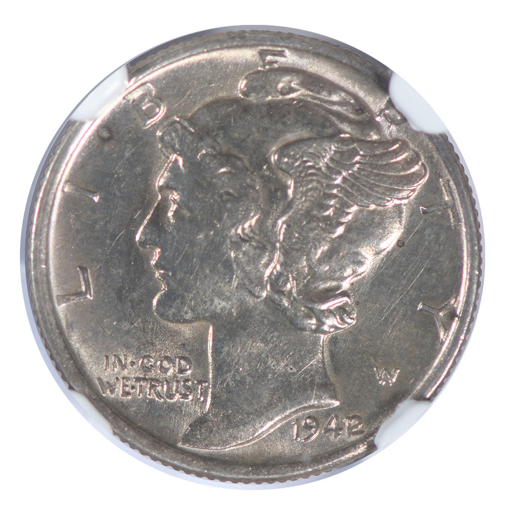 1942/41 Mercury Dime NGC MS61