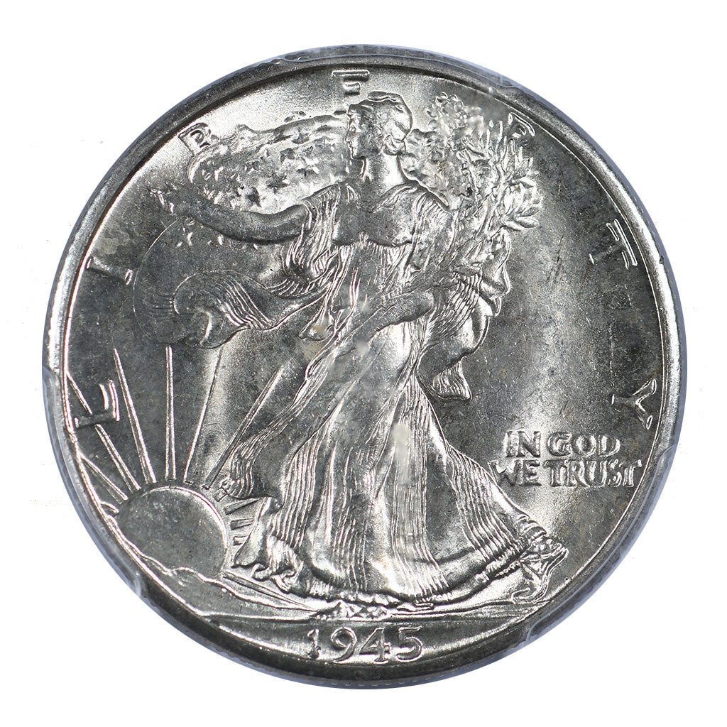 1945-D Walking Liberty Half Dollar PCGS MS65