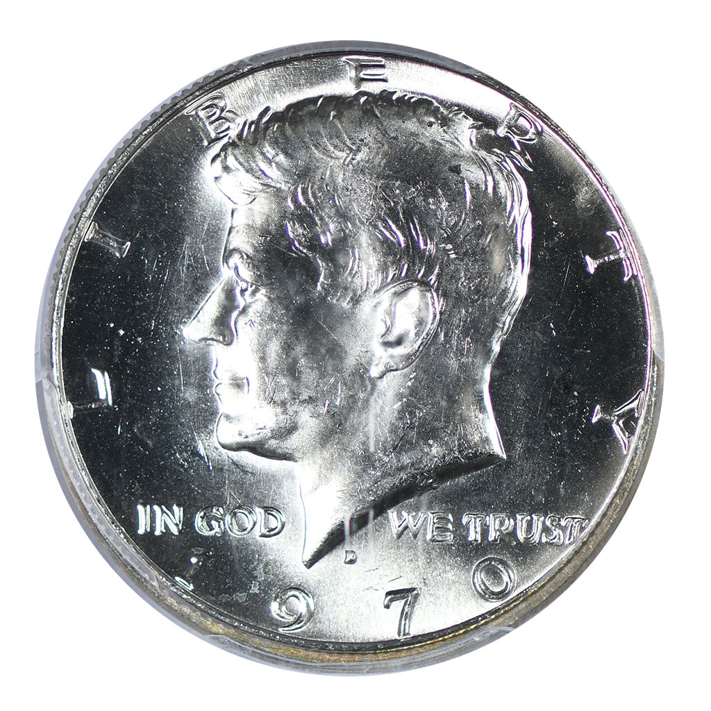 1970-D Kennedy Half Dollar PCGS MS64