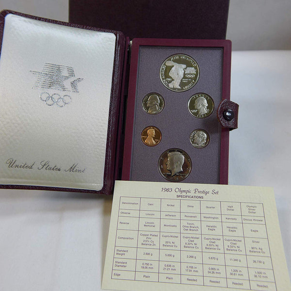 1983 U.S. Olympic Prestige Set