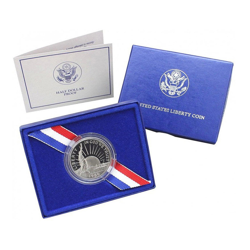 1986 Statue Of Liberty Commemorative Clad Half Dollar Proof