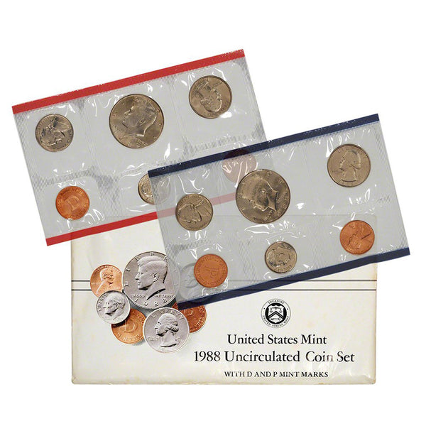 1988 U.S. Uncirculated Set