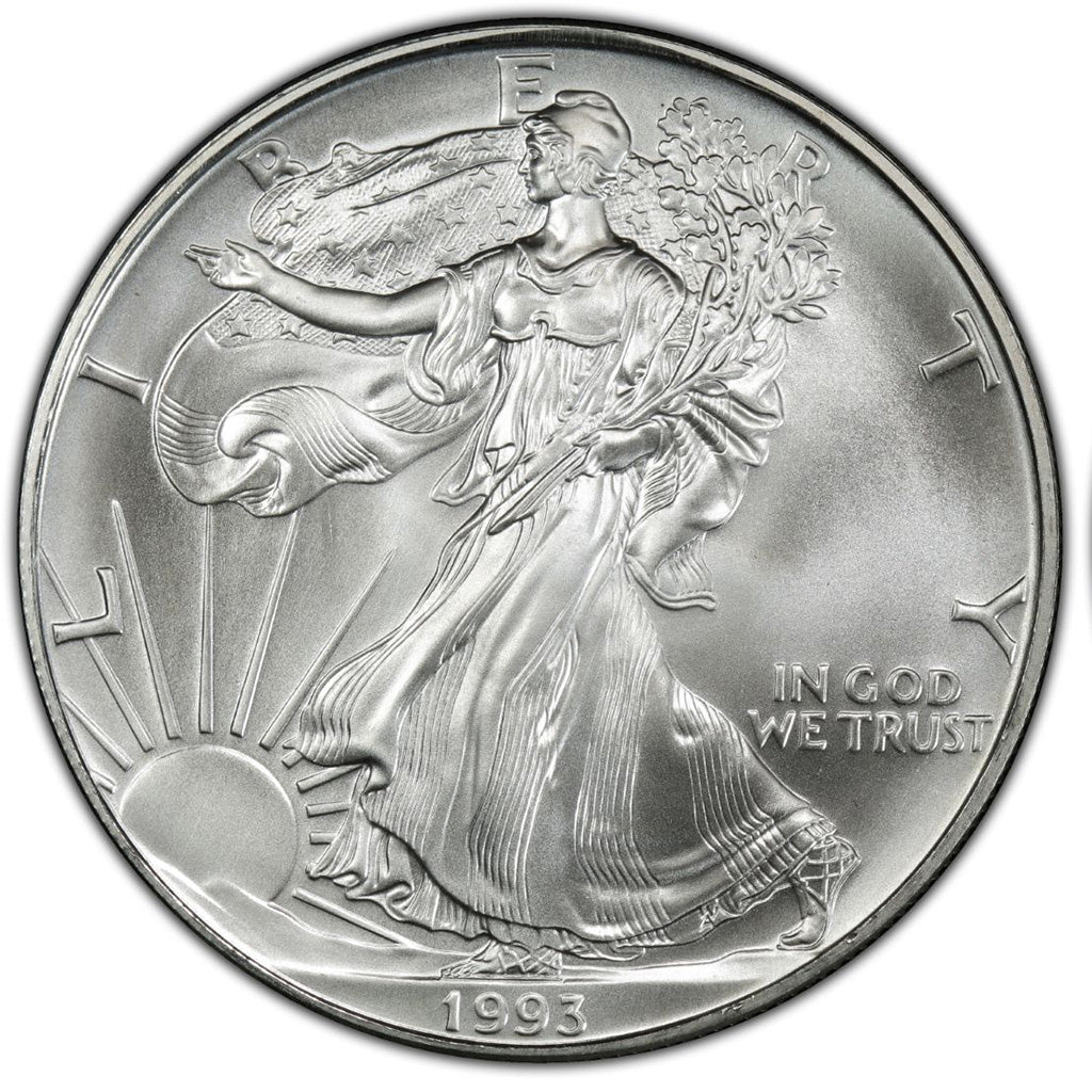 1993 American Silver Eagle Mint State