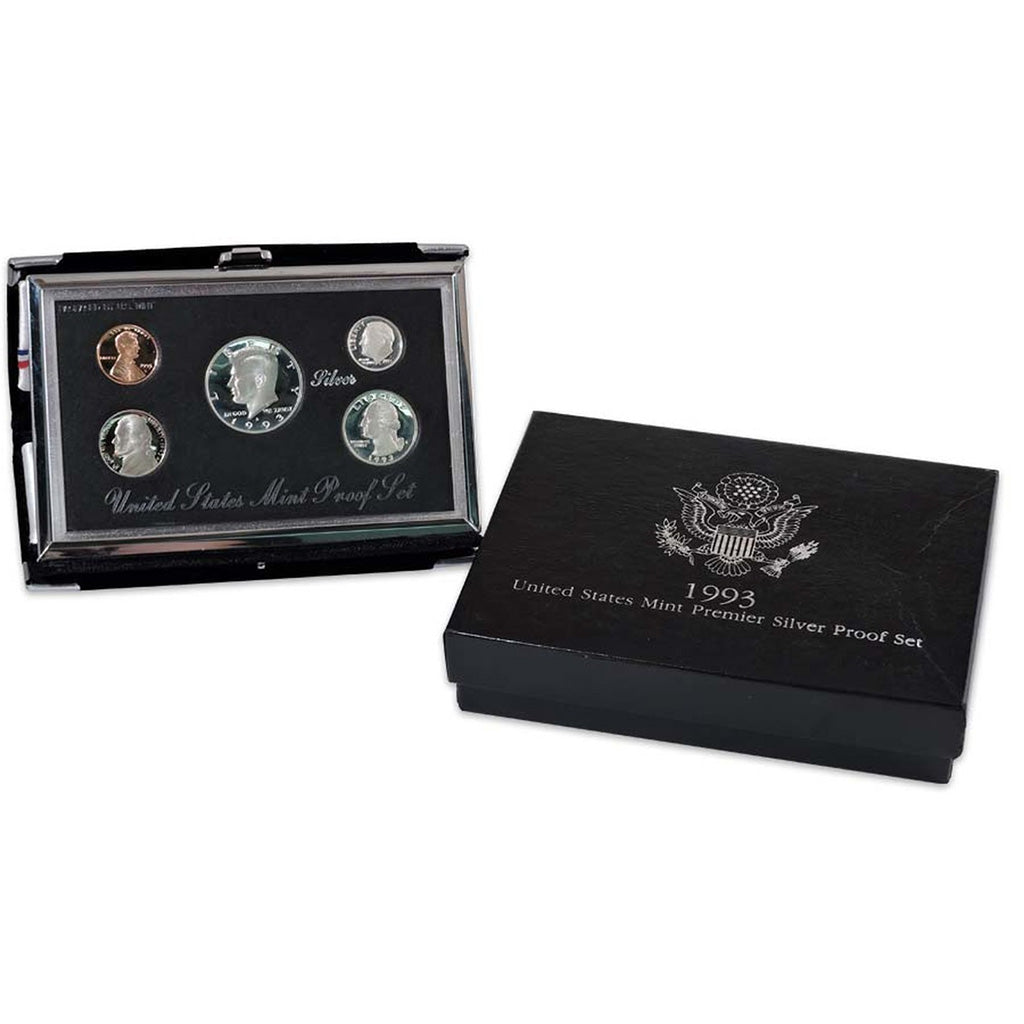 1993 U.S. Premier Silver Proof Set