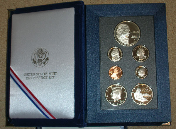 1993 U.S. Prestige Proof Set