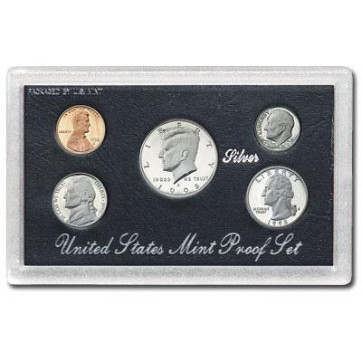 1998 U.S. Proof Set Silver