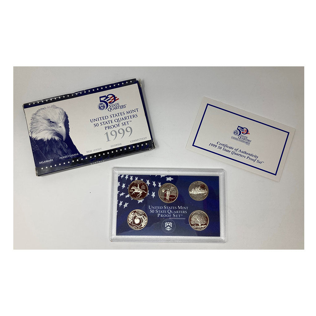 1999 U.S. State Quarters Proof Set
