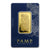 1 OZ Gold Bar PAMP Suisse Lady Fortuna Veriscan