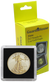 1 Oz American Gold Eagle 2x2 Tetra Snaplock Coin Holder - 10 per pack