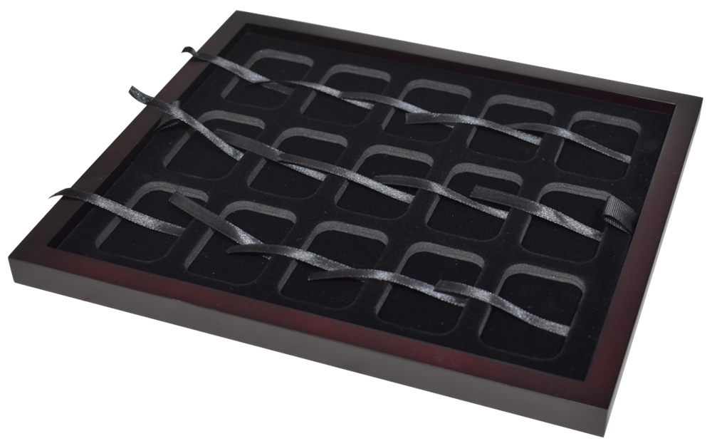 1 oz Bar Capsule Tray - Holds 15 of 1 oz Silver Bar Capsules
