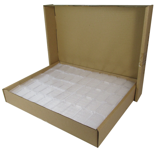 1 oz Silver Bar Holder bulk. 250 Count Box.