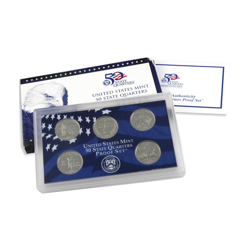 2000 U.S. State Quarters Proof Set