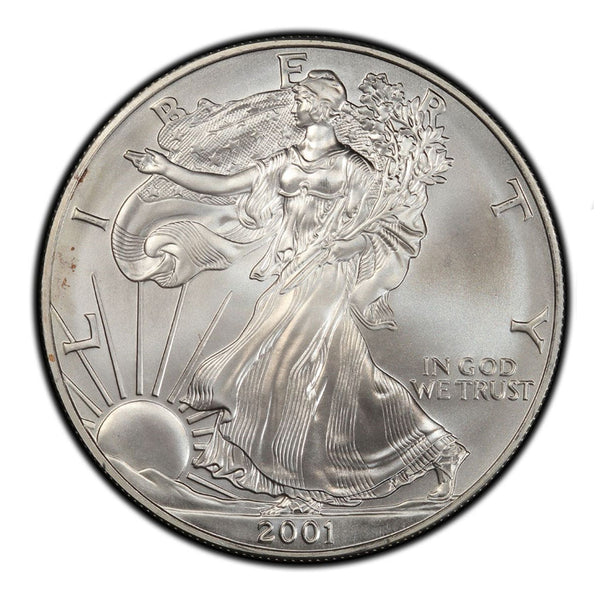 2001 1 oz American Silver Eagle Mint State
