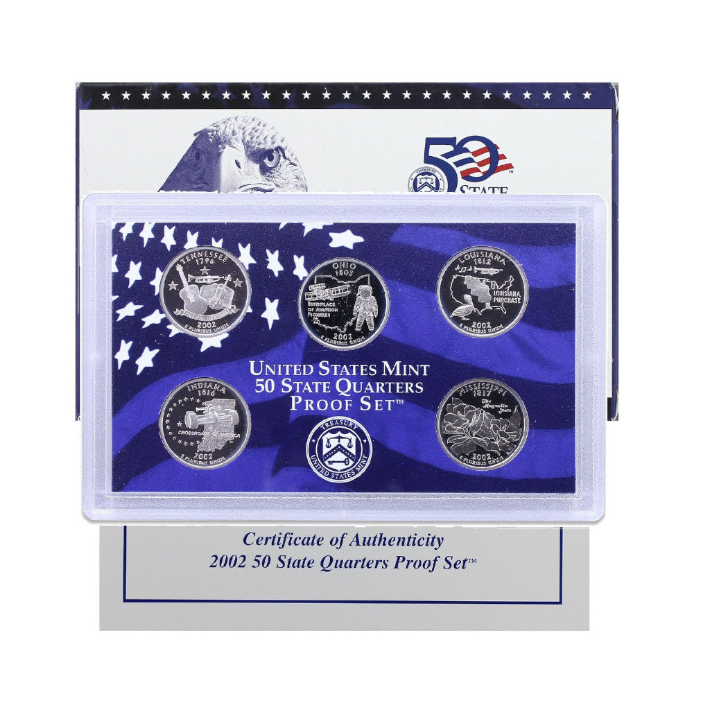 2002 U.S. State Quarters Proof Set