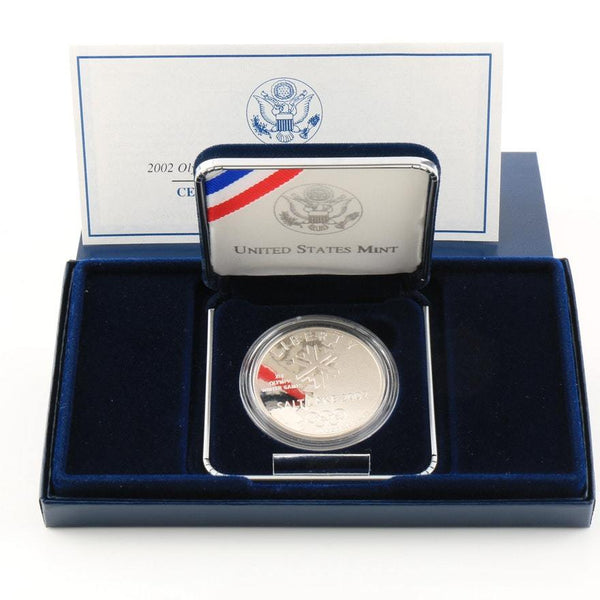 2002 SLC Winter Olympics Commemorative Silver Dollar Proof