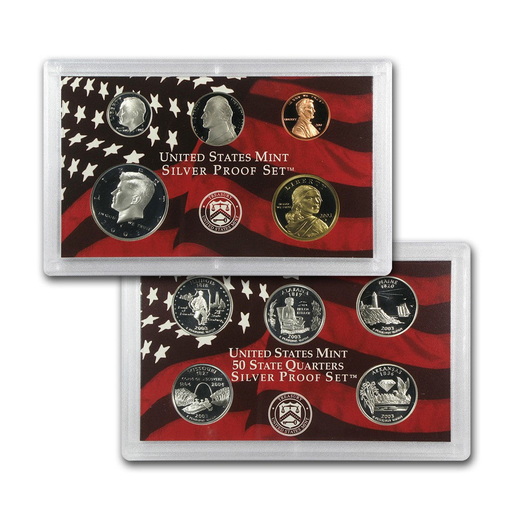 2003 U.S. Silver Proof Set